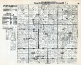 Harmony Township, Denver, Bentley, Hancock County 1936